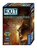 KOSMOS 692698 - EXIT - Das Spiel - Die Grabkammer des Pharao, Kennerspiel des Jahres 2017, Level: Profis, Escape Room Spiel