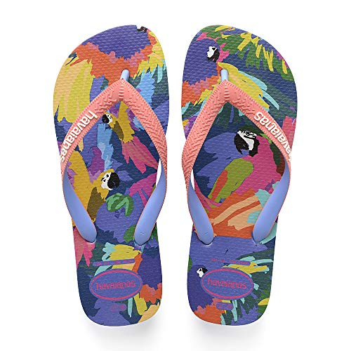 Havaianas Top Fashion, Infradito Donna, (Blue Star 3847), 39/40 EU (37/38 BR)