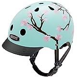 Nutcase Street, Casco da Bicicletta Unisex - Adulto, Multicolore (Cherry Blossoms), M (56-60 cm)