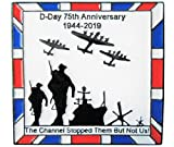 WW2 D-Day 75th Anniversary 1944 Normandy Landings 2019 Military RAF Badge