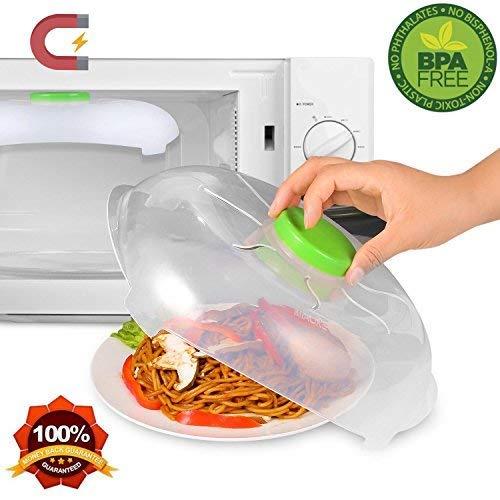 Magnetico microwave Splatter cover-vapore | Lavabile in lavastoviglie e microonde Hover...