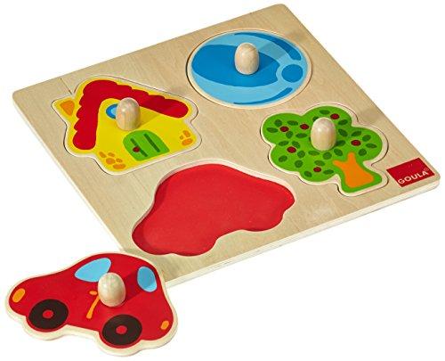 Goula 53015 Puzzle 4 Pezzi