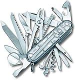 Victorinox Taschenmesser Swiss Champ (31 Funktionen, Kombi-Zange, Schere) SilverTech