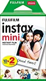 Fujifilm Instax Mini Instant Film, Weiß, Doppelpackung