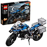LEGO 42063 Technic BMW R 1200 GS Adventure Motorbike, 2 in 1 Model, BMW Design, Concept Building Playset