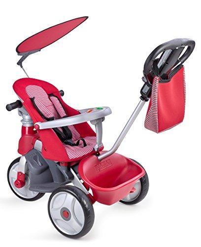Feber 800009473 - Baby Trike Easy Evolution Girl, Rosso