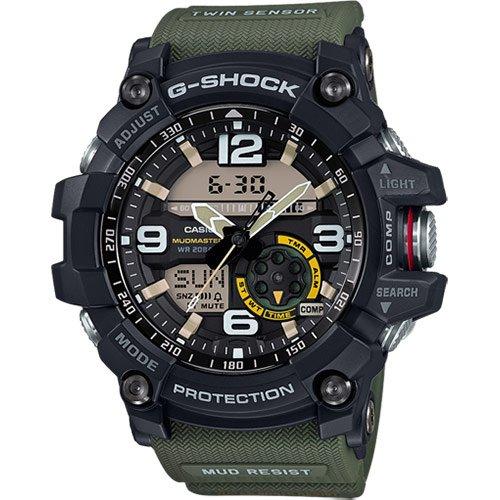 CASIO Herren Analog-Digital Uhr mit Harz Armband GG-1000-1A3ER