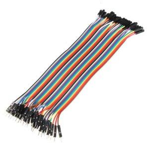 51FJrEHUmHL - Bheema 40 cables de puente macho a hembra para Arduino, 20 cm