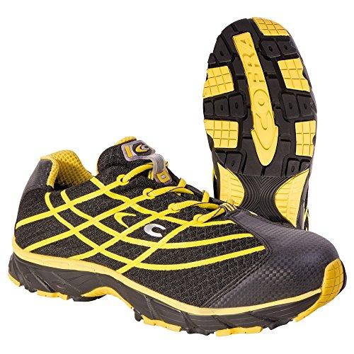Cofra, JV036-000, Scarpe di sicurezza nuovo Alien scarpe Nero S1P lavoro formato 43 Volare di lavoro