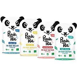 Panda Tea coffret 4 mélanges 112 sachets