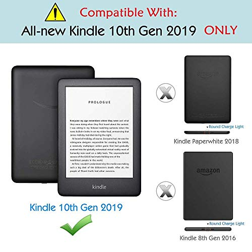 "MOCA Compatible Smart Auto Wake/Sleep flip Case Cover for 2019 Kindle 10th Gen Generation 6"" Display 2019 Release case Cover (Black) 2  MOCA Compatible Smart Auto Wake/Sleep flip Case Cover for 2019 Kindle 10th Gen Generation 6″ Display 2019 Release case Cover (Black) 51FXT6sfpAL"