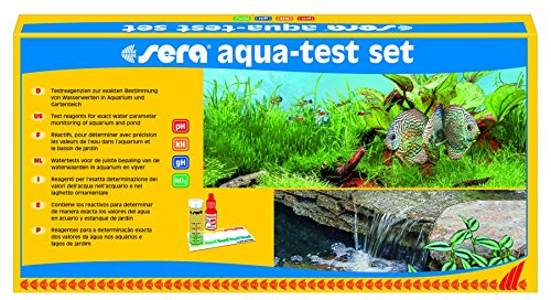 sera 04000 aqua-test set, Koffer, Lernen Sie Ihr Wasser kennen pH, GH, KH, NO2 - schnell, genau, professionell