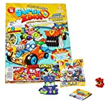 Rivals of Kaboom Superzings Serie 4 Superzings Revista Oficial Pack Exclusivo
