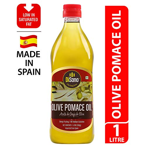 DiSano Olive Pomace Oil, Ideal for All Indian Cooking, 1L