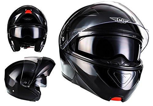 Cascos de moto baratos MOTO F19 Gloss Black · Urban Sport Flip-Up