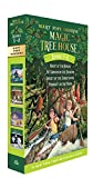 Magic Tree House Books 5-8: Night of the Ninjas/Afternoon on the Amazon/Sunset of the Sabertooth/Midnight on the Moon