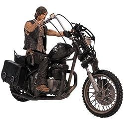 Walking Dead TV Daryl Dixon con Chopper figura de acción Box Set