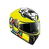 AGV K3 Sv Misano 2001 Valentino Rossi Casco para motociclista