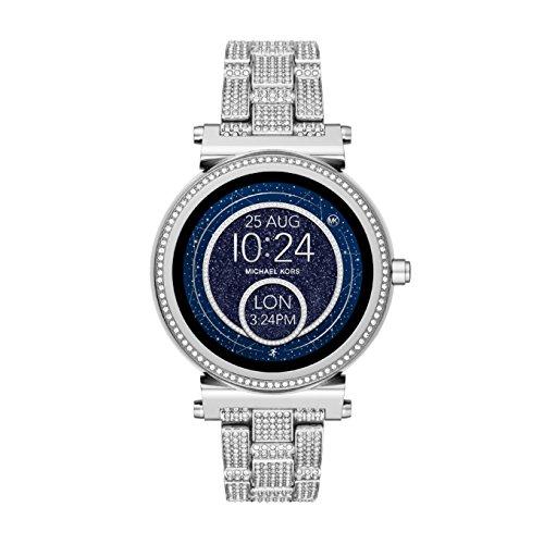 Michael Kors Reloj Mujer de Digital con Correa en Acero Inoxidable MKT5024
