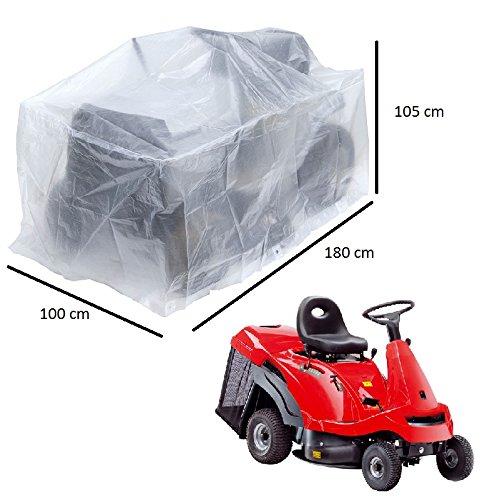 Lona protectora para cortacésped grandes o pequeños tractores, 180 x 100 x 105 cm
