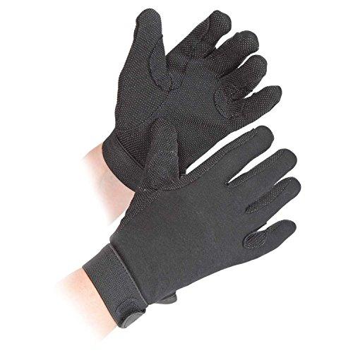 Adults Newbury Riding Gloves - Medium - Black by Shires
