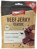 Zimbo BIO Beef Jerky Classic, 5er Pack (5 x 75 g)