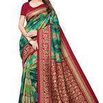 Art Decor Mysore Silk Saree with Blouse Piece