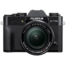 "Fujifilm X-T10 - Cámara EVIL de 16 MP (pantalla de 3"", LCD, 1080 p FHD, CMOS II) negro y plata - kit cuerpo con objetivo Fujinon XF 18 - 55 mm f/2.8 - 4 R LM OIS"