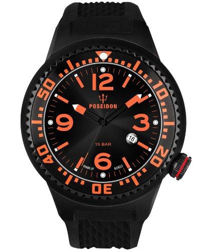 Kienzle K2031043263-00389 - Orologio da polso uomo, silicone, colore: nero