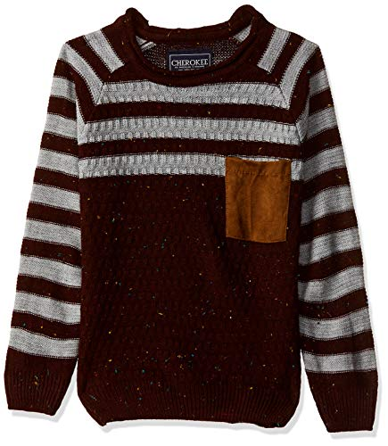 Cherokee by Unlimited Boys' Sweater (400017662800_Maroon_02Y)