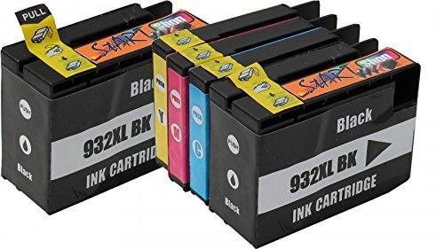 Start - Cartucce d'inchiostro compatibili per HP 932XL 933XL - Alta Capacita Compatibile con HP...