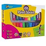 Brian Clegg LBPS10CMDA24 Paint Sticks Bumper Pack, 24 Assorted, Multi