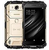 DOOGEE S60 - 5.2 pulgadas FHD Impermeable 4G Smartphone, 5580mAh batería 12V2A Carga rápida (soporte de carga inalámbrica), Helio P25 2.5GHz Octa Core 6 GB 64 GB- Oro
