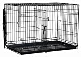 Precision Pet Black Great Crate 2 Door 30 in. x 19 in. x 22 in. by Precision Pet