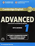 Cambridge English Advanced 1 for Revised Exam from 2015 Student's Book  + CD [Lingua inglese]