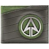 DC Comics Arrow Superhero Emblem Nero portafoglio