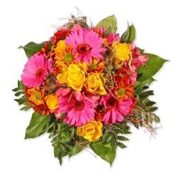 """floristikvergleich.de Blumenstrauß Blumenversand """"Herzlichen Dank"""" +Gratis Grußkarte+Wunschtermin+Frischhaltemittel+Geschenkverpackung"""