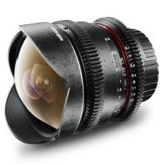 Walimex 18398 Lente de cámara SLR - Objetivo (SLR, 10/7, Objetivo de Ojo de pez, 0,3 m, 8 mm, 139,3°)