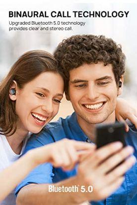 Auriculares-Bluetooth-Inalmbricos-50-Dudios-Air-TWS-Manos-Libres-Bluetooth-Cascos-Deportivos-Impermeable-con-reproduccin-de-4-Horas-Estreos-con-Micrfono-para-iOS-y-Android