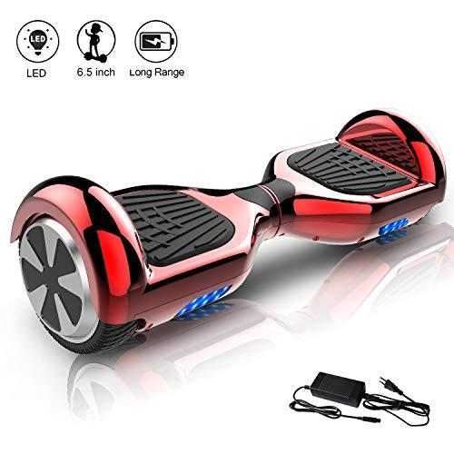 Hoverboard elettrico scooter a 6.5 pollici & LED Auto Balance E-Skateboard