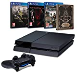 Pack PS4 500 Go + The Order 1886 + Assassin's Creed Syndicate + steelbook + Metal Gear Solid V : The Phantom Pain
