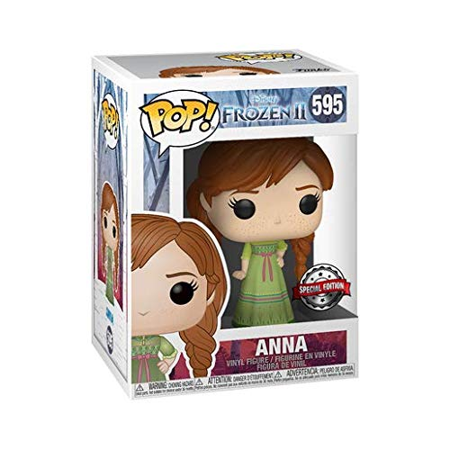Funko Pop! Disney: Frozen 2 - Anna Wearing Night Gown (UK Exclusive)