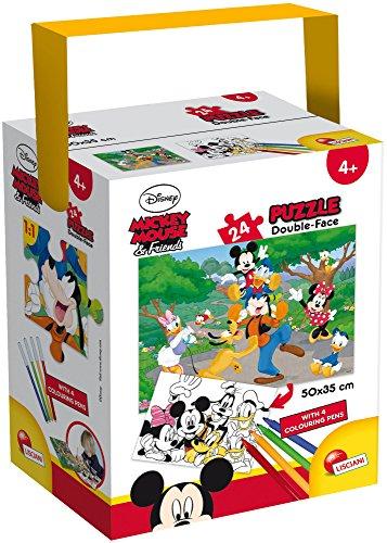 Lisciani Giochi Mickey Puzzle in a Tub Mini, 24 Pezzi, 35 x 50 cm 65240.0