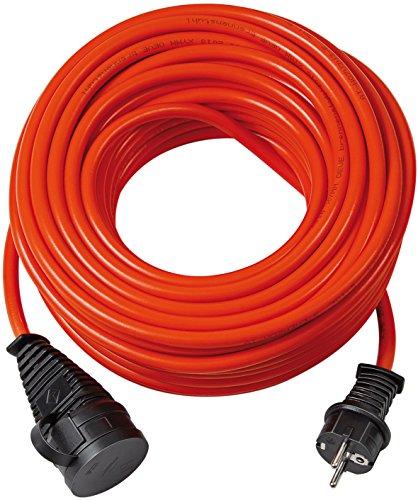 Brennenstuhl 1161760 - Prolunga Bremaxx IP 44, AT-N05V3V3-F3G1,5, 20 m, rosso
