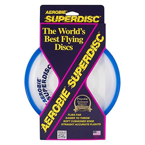 Frisbee - Aerobie Super Disc, Colores Aleatorios (Bizak 61928846)