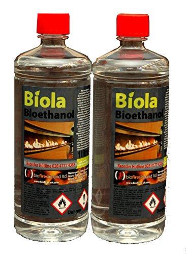 Biofiresireland Ltd 2L SUPERIOR BIOETHANOL FUEL Buy 4L (£29.90) & get 2L FREE