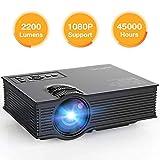 [Améliorée] Vidéoprojecteur Mini 2200 Lumens APEMAN Projecteur,...