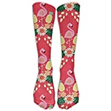 guolinadeou Pineapples Skull Womens Compression Socks Novelty Athletic Socks High Stockings Unisex Anti-odor Running Long Sock For Men And Women