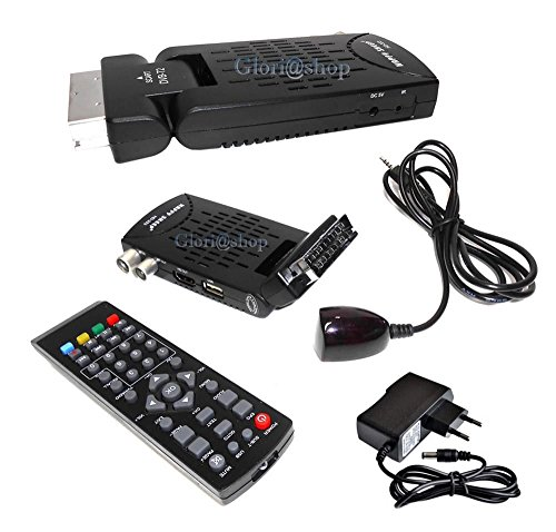 DECODER SATELLITARE DIGITALE TERRESTRE MINI DVB-T2 USB HDMI PRESA SCART HD-333