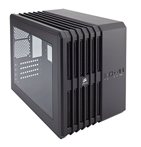 Corsair Carbide Series Air 240 PC-Gehäuse (Windowed Mini ATX High Airflow) schwarz